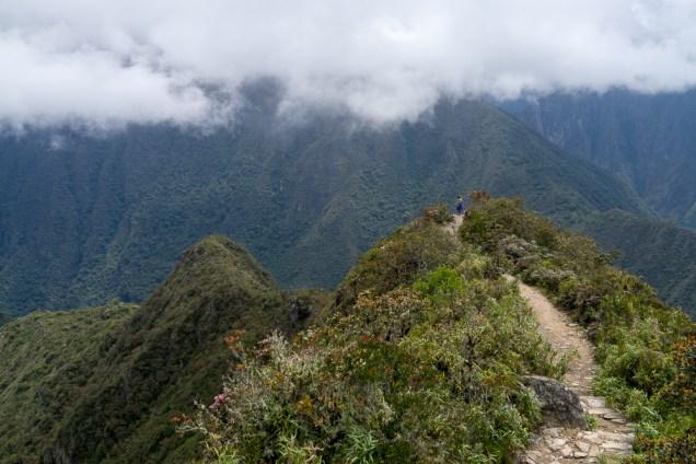 Vu sur la cité du Machu-Picchu.