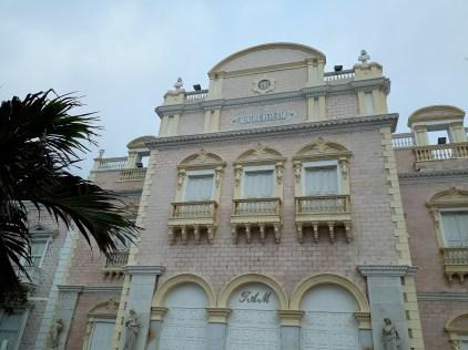 L'ancien opéra de Carthagène, reconverti en théâtre.