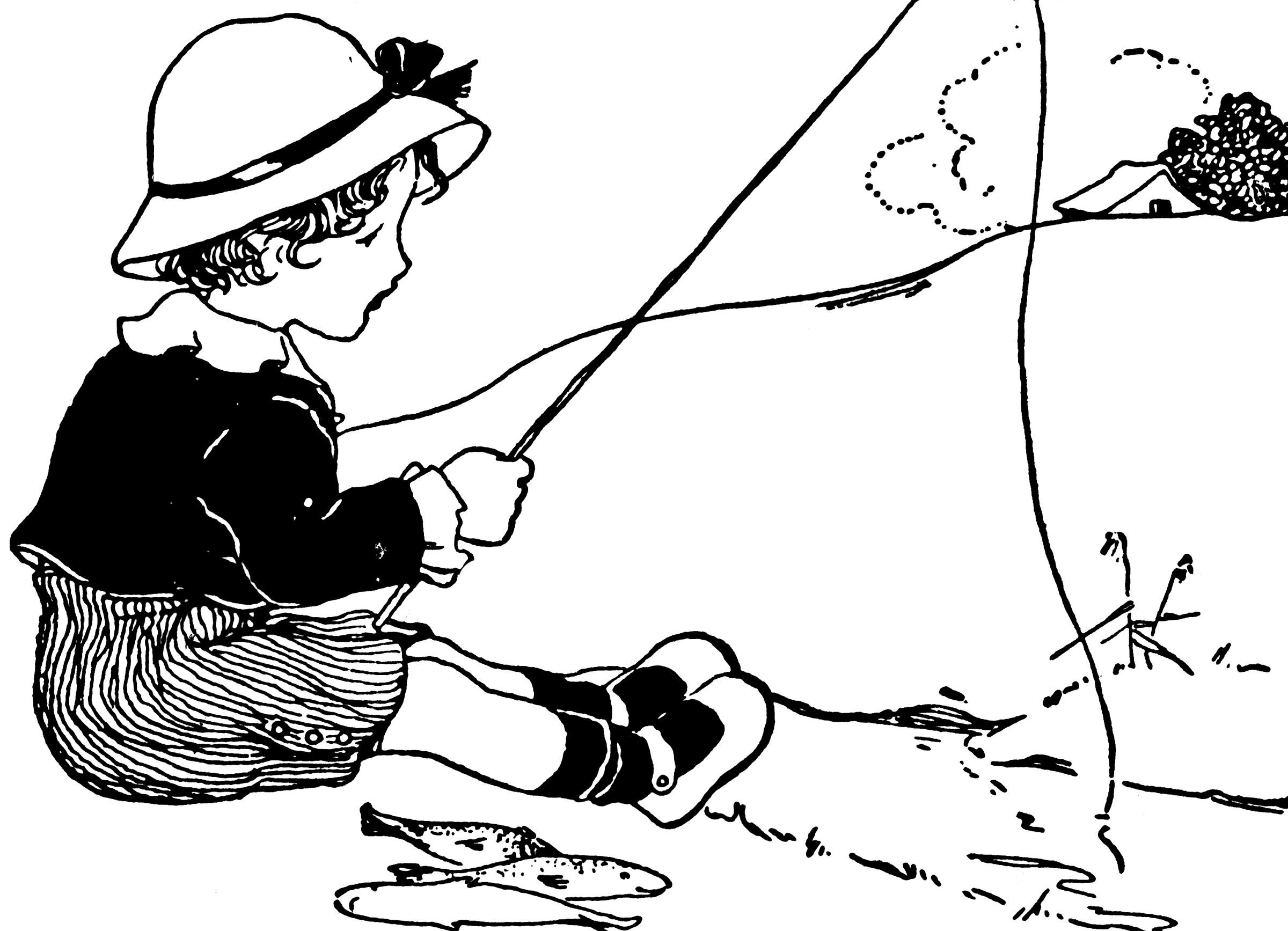 Fishing   ClipArt ETC (2400 x 1735 Pixel)