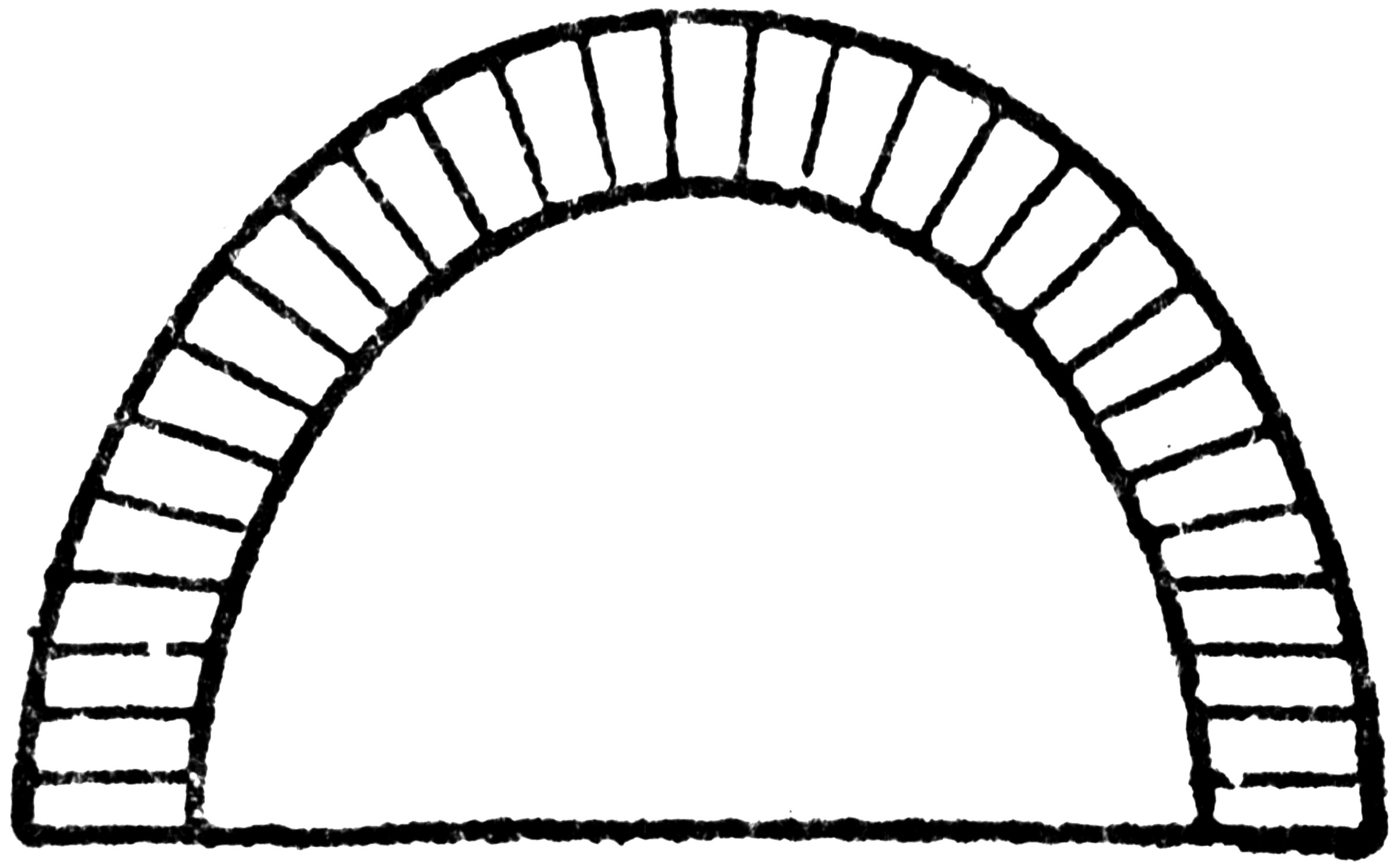 Elliptical Arch Clipart Etc