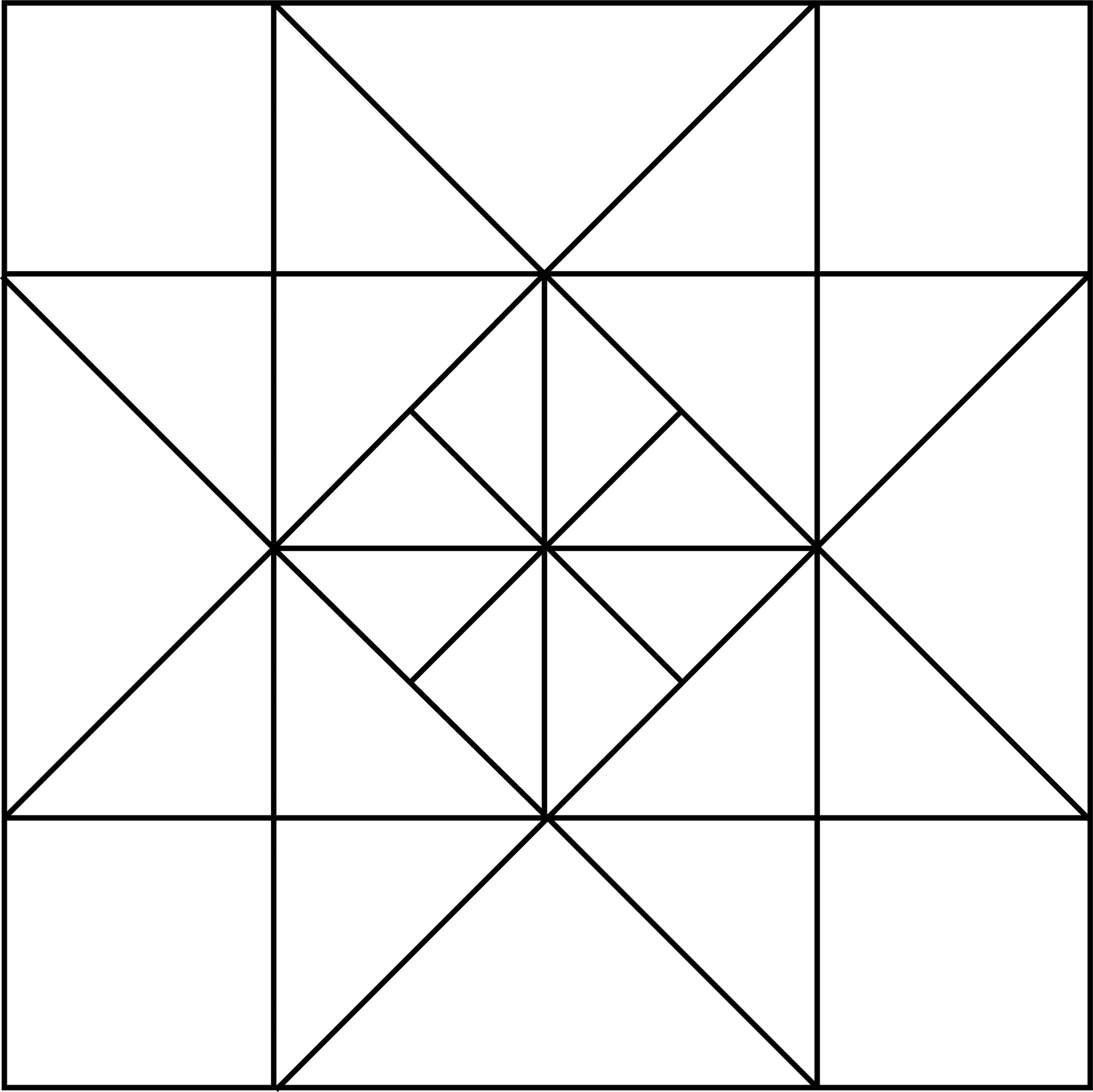 Geometric Block Pattern 23 Clipart Etc