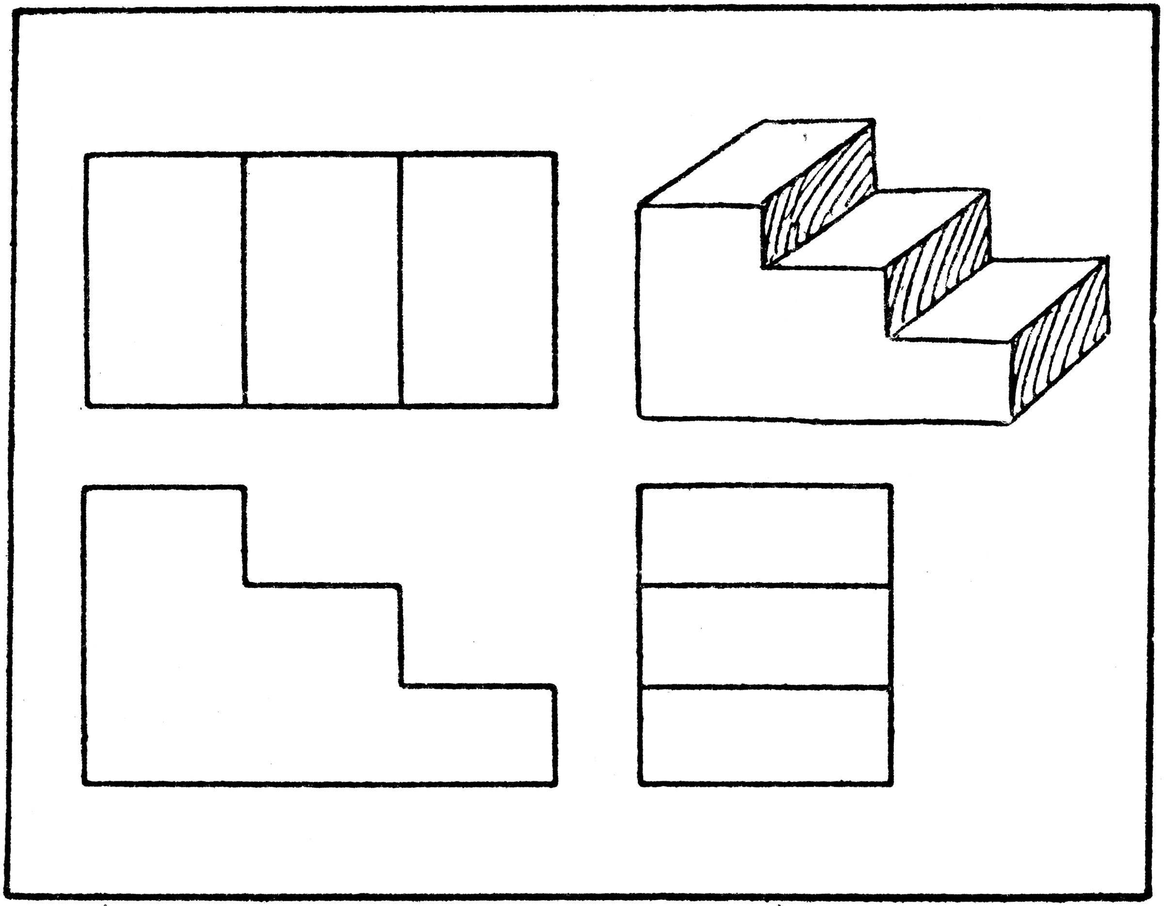 Orthographic Drawing Dimensions