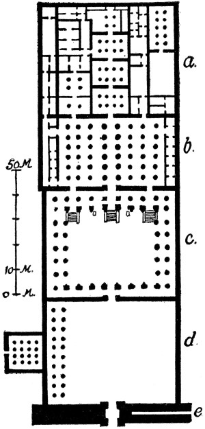 Plan of the Ramasseum | ClipArt ETC
