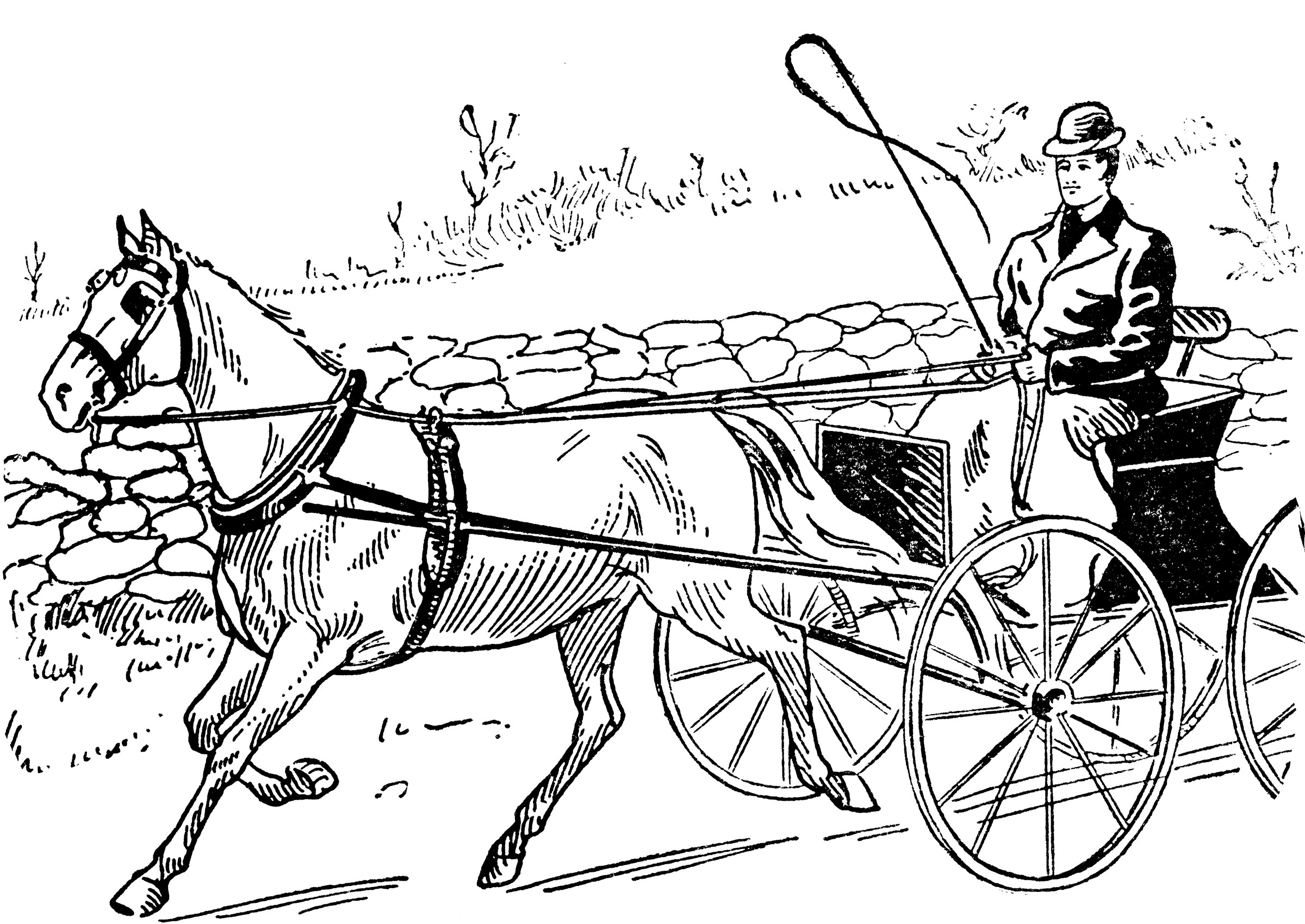 Horse Drawn Carriage ClipArt ETC