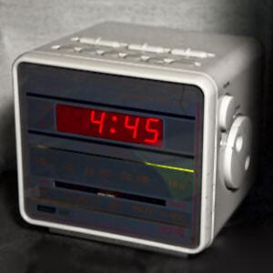 Audio Clip Alarm Clock Beeping