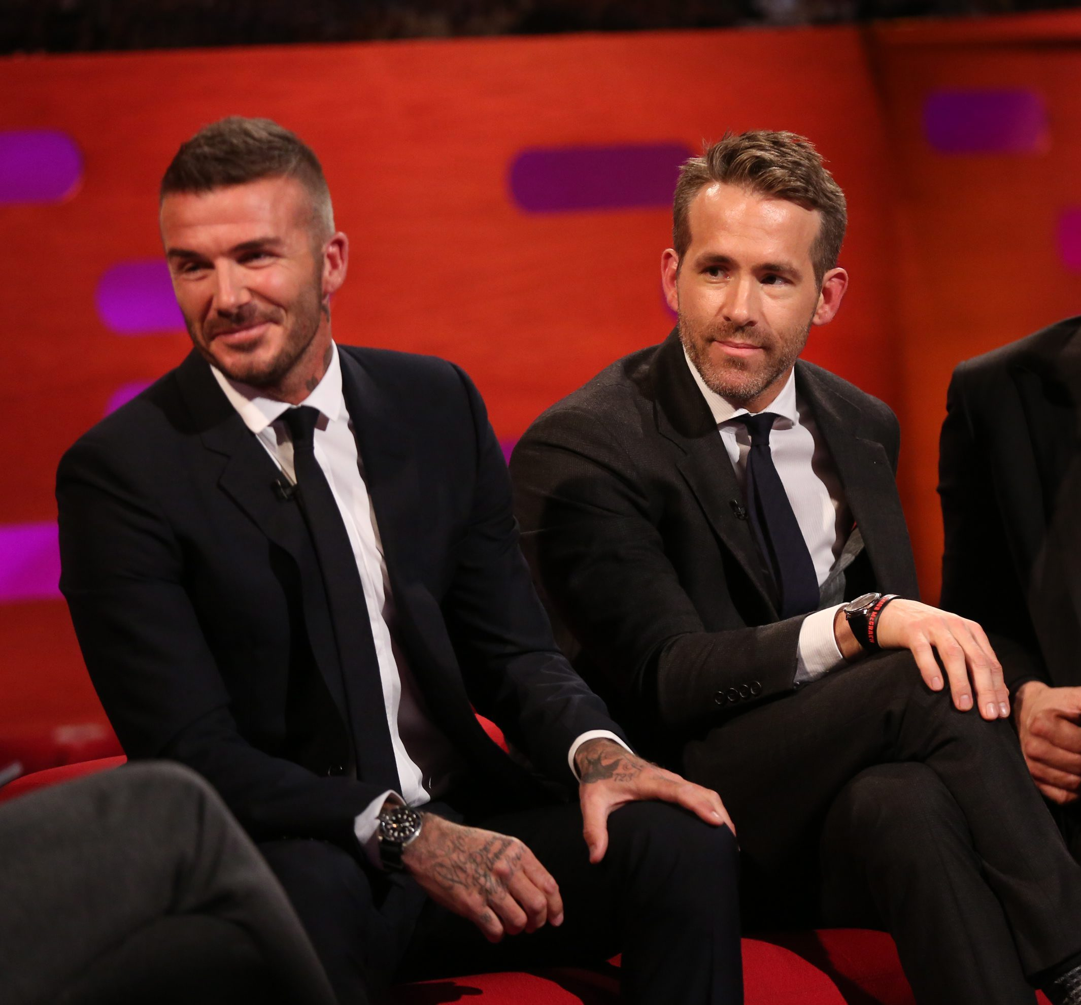 Ryan Reynolds Responds To David Beckham With R-Rated Comment