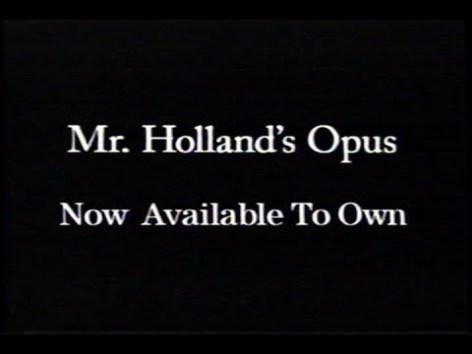 ハートウォーミングな映画に涙したい 『陽のあたる教室 (原題:MR. HOLLAND'S OPUS)』後半