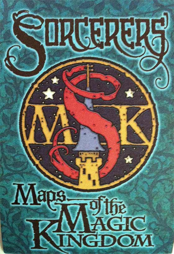 Sorcerers of the Magic Kingdom Map