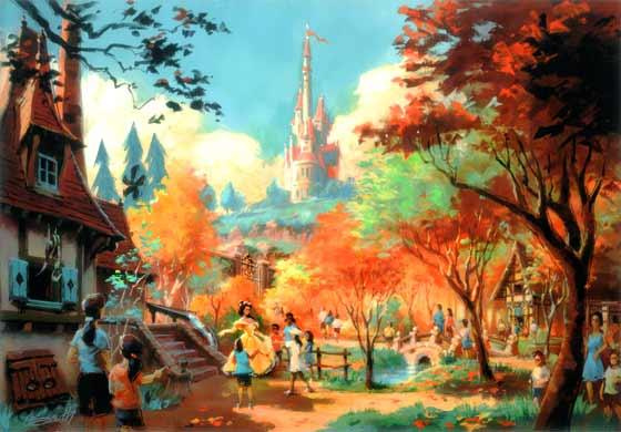 Belle's rendering