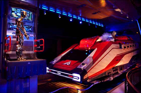 Star Tours queue area