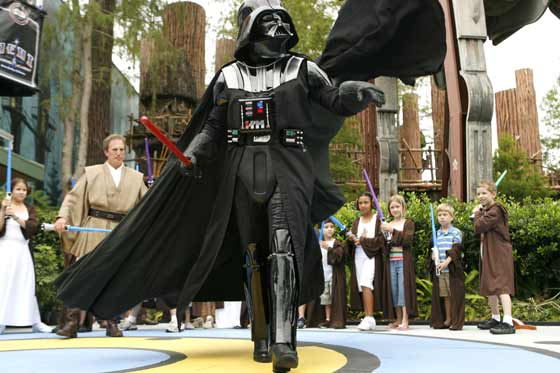 Darth Vader at Star Wars Weekends