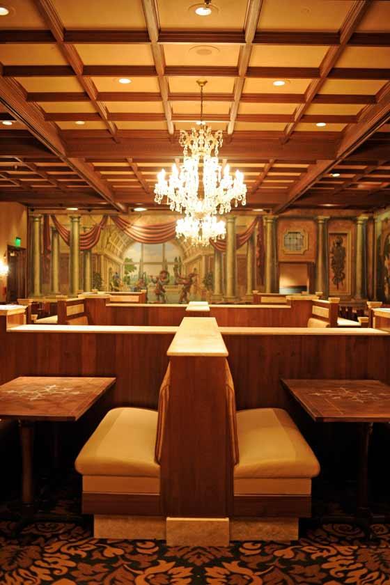 New interior of Tutto Italia