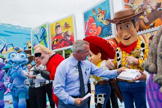 Mail a Smile with Disney•Pixar Characters