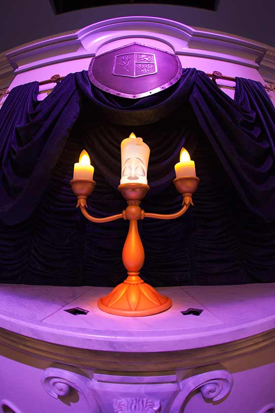 Lumiere, is your host during the show