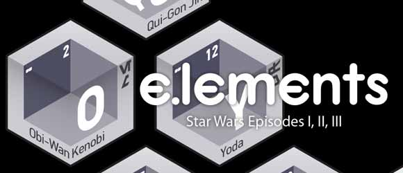 e.lements of star wars episodes I, II, and III