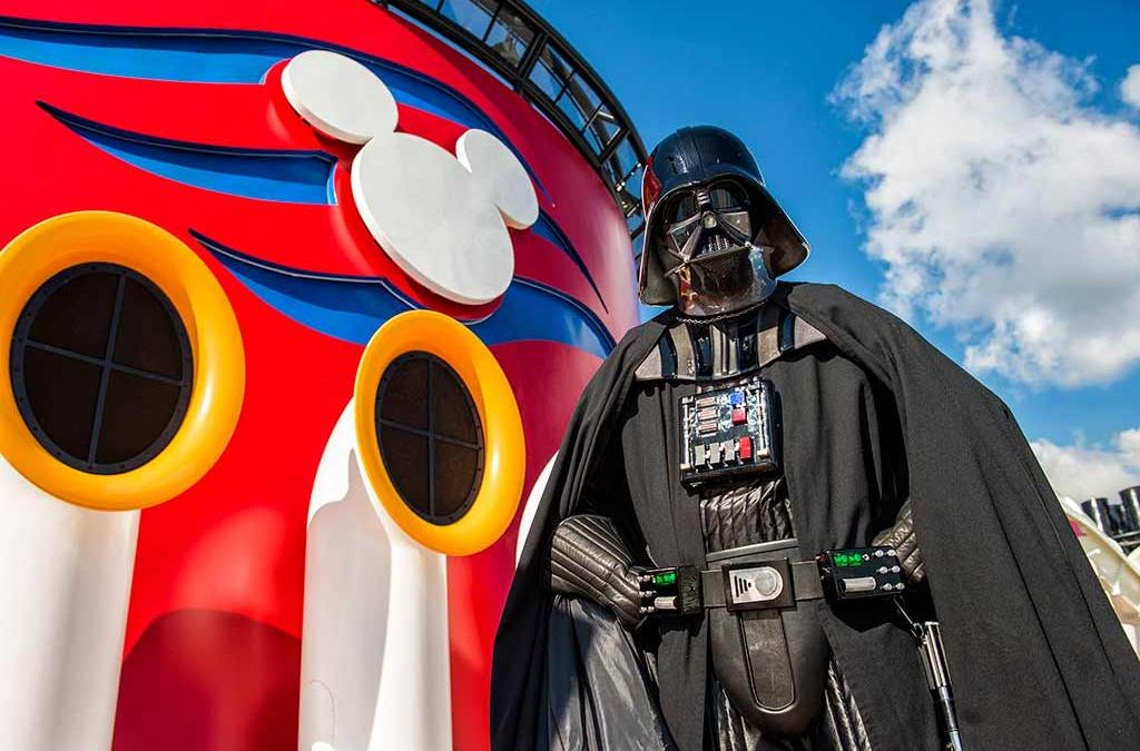 star wars invades disney cruise line