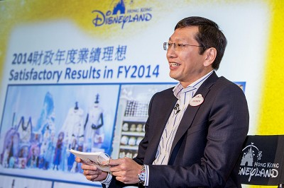 hong kong disneyland announces 5th record-breaking year