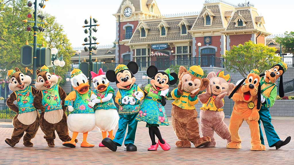 Characters on Main St.