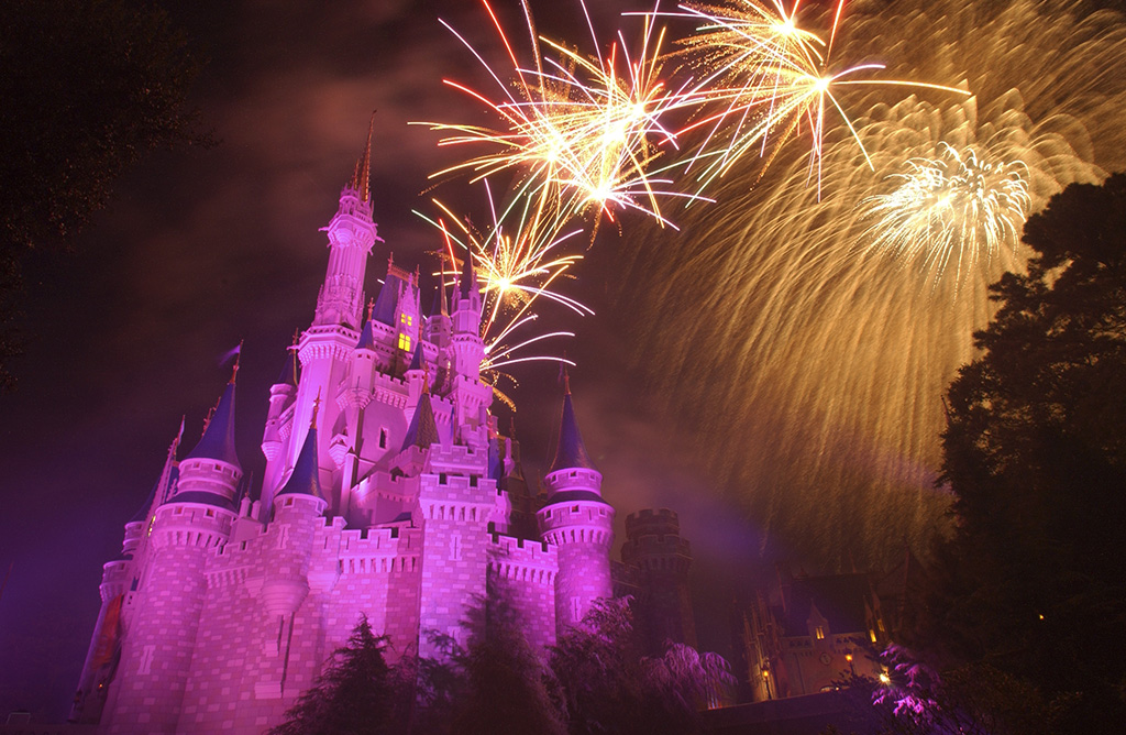 Wishes fireworks display
