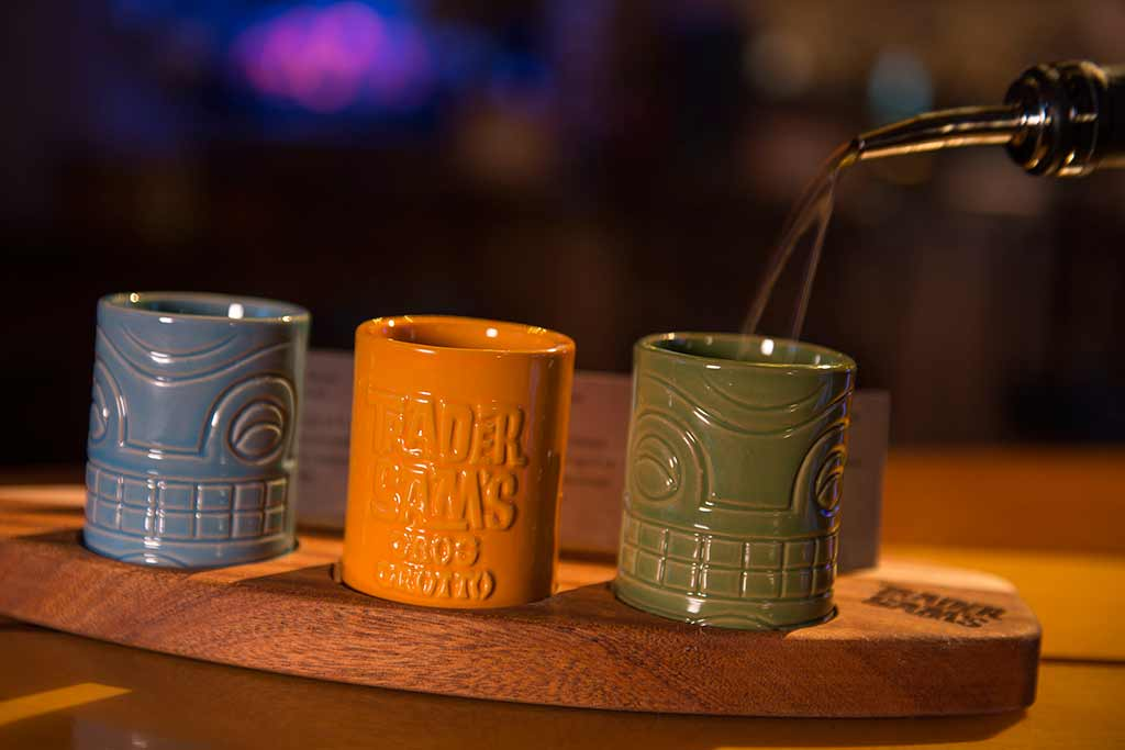 Trader Sam's cups