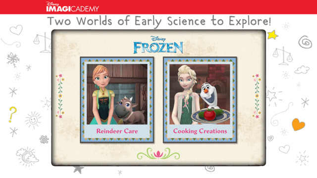Frozen: Early Science game screen