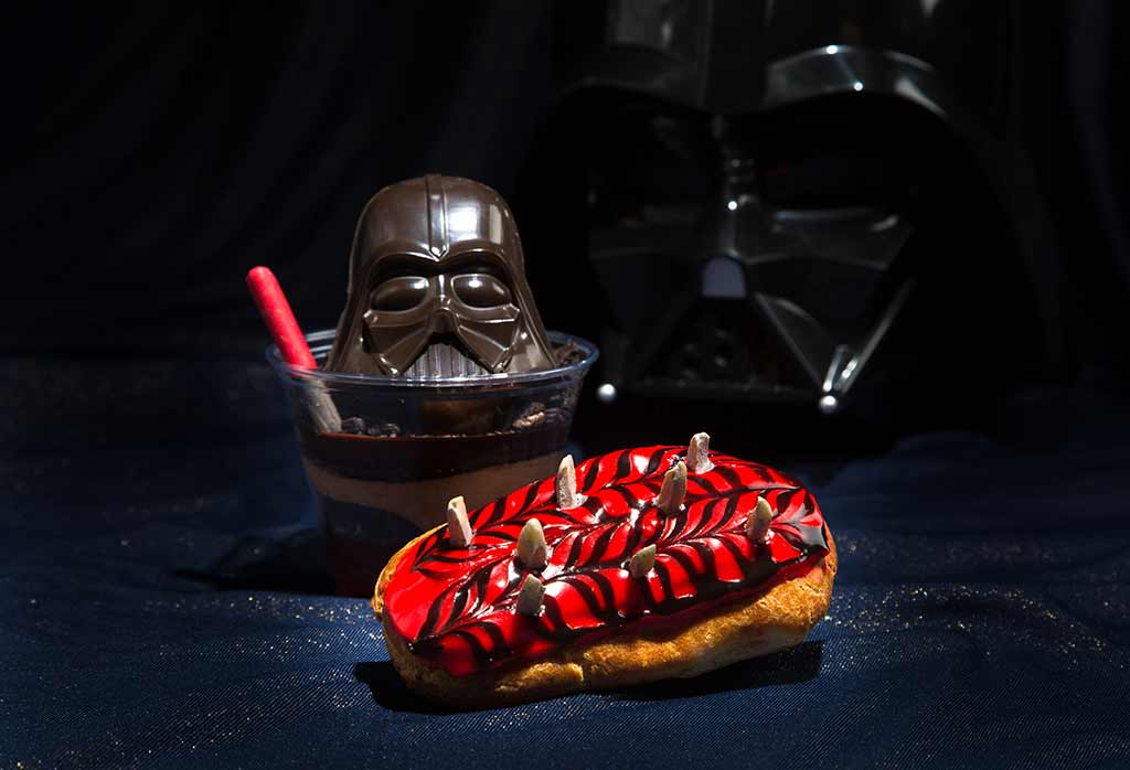 Darth by Chocolate and the Pastry Menace treats