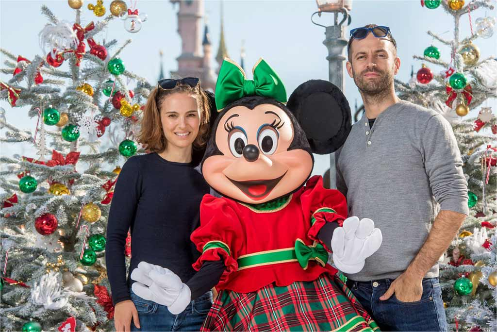 Natalie Portman, Minnie Mouse and Benjamin Millepede