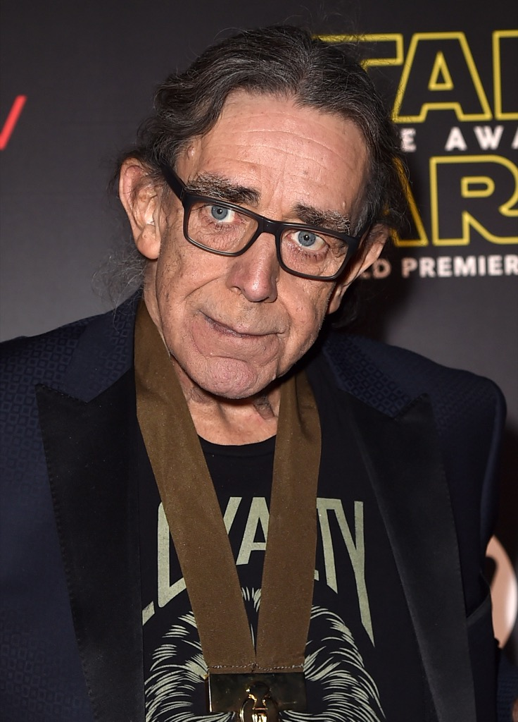 HOLLYWOOD, CA - DECEMBER 14:  Actor Peter Mayhew attends the World Premiere of ìStar Wars: The Force Awakensî at the Dolby, El Capitan, and TCL Theatres on December 14, 2015 in Hollywood, California.  (Photo by Kevin Winter/Getty Images for Disney) *** Local Caption *** Peter Mayhew