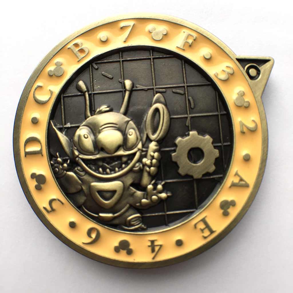 Inquest Stitch pin
