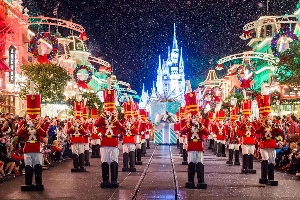 Tin Soldiers march down Main Street U.S.A.