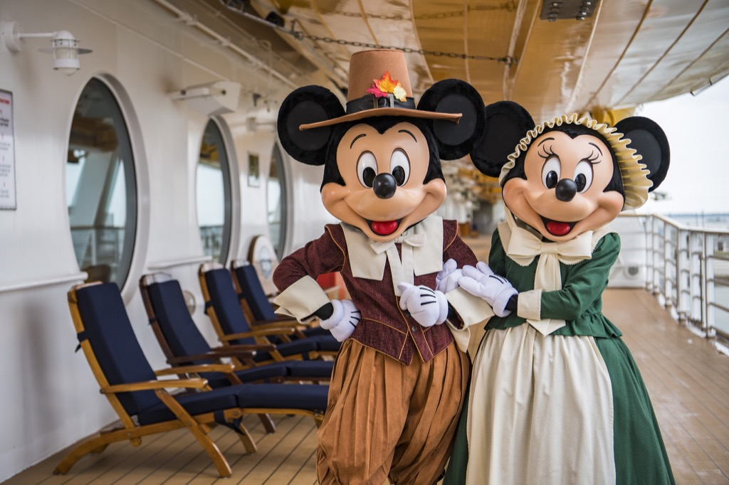Pilgrim Mickey and Minnie