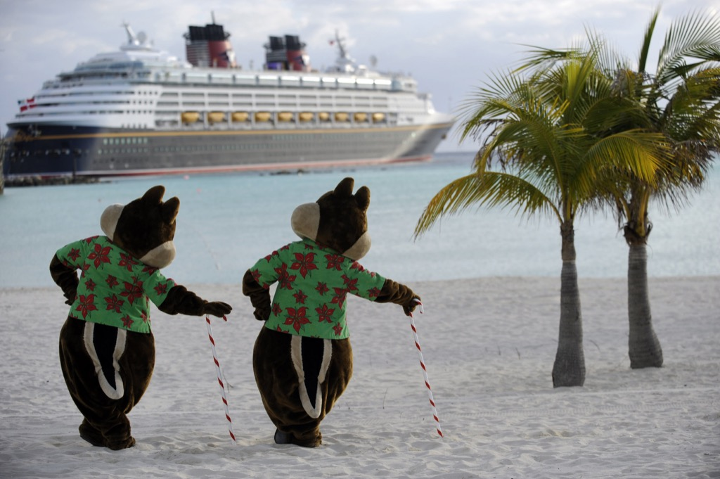 Chip and Dale on Castaway Cay