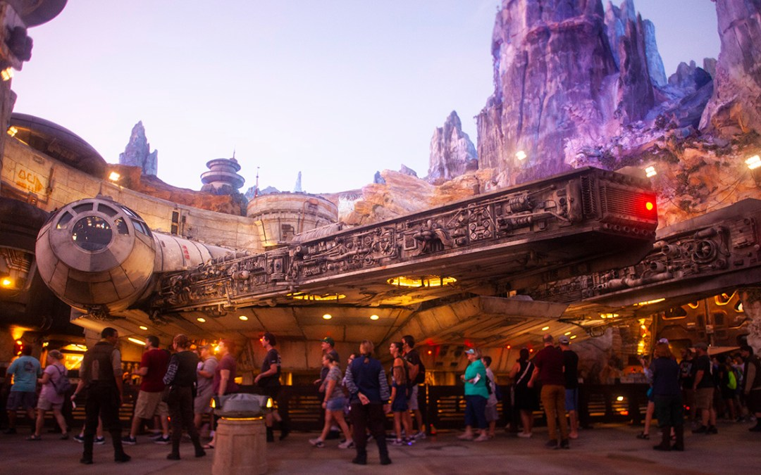 star wars galaxy's edge first look