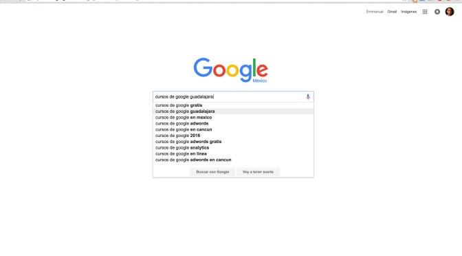 Cursos de Google en Guadalajara (SEO):