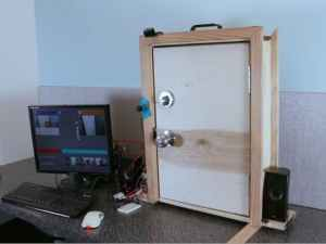 facial recognition door