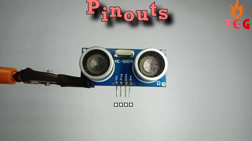 Pinouts of HCSRO4 Ultrasonic Sensor