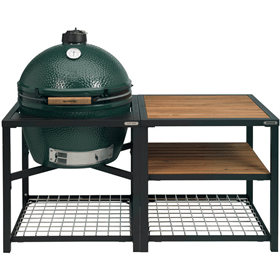 Big Green Egg XLarge Houtskoolbarbecue met Modular Nest System Compleet Acaciahout