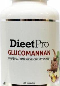 Dieet Pro Dieet Pro glucomannan 120ca