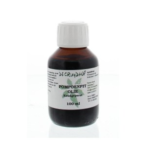 Cruydhof Pompoenpitolie koudgeperst 100 ml