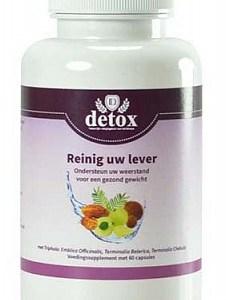 Detox L Capsules Reinig Uw Lever