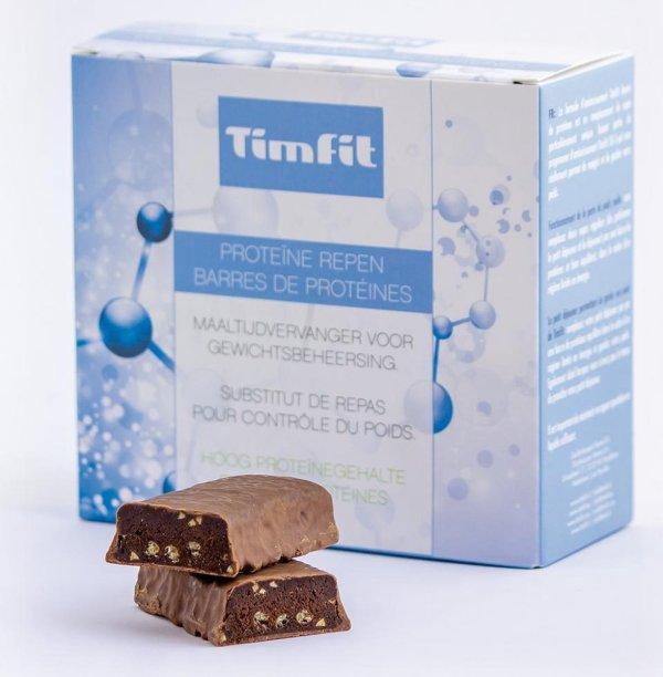 Milky Chocolate   Afvallen met TimFit SX5 - Maaltijdvervanger - Eiwitreep - Maaltijdreep