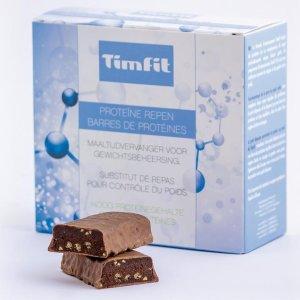 Milky Chocolate | Afvallen met TimFit SX5 - Maaltijdvervanger - Eiwitreep - Maaltijdreep