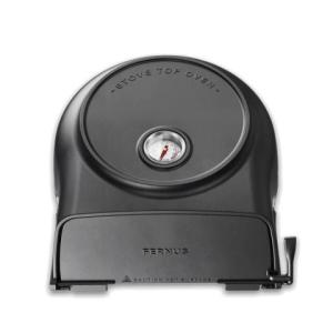 Fernus Stovetop pizza-oven, charcoal matted black