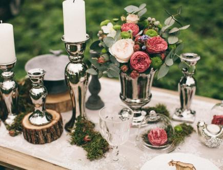 Bruiloftscatering van cateringgroep