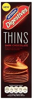Mcvities Digestive Mcvities Digestive - Thins Dark Chocolate 180 Gram