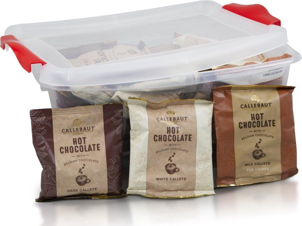 Callebaut Hot Chocolade Box - 40 porties - 1,4kg