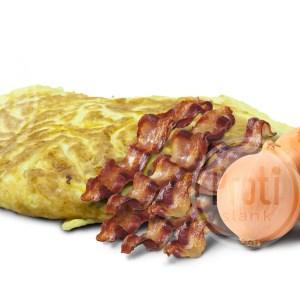 Omelet bacon kaassmaak