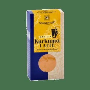 Sonnentor Kurkuma Latte Vanille 60 g, bio - pakje