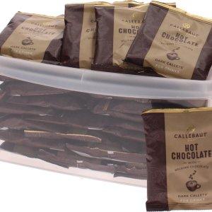 Callebaut Hot Chocolate pure chocolade callets - 40 stuks