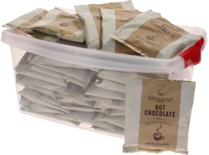 Callebaut Hot Chocolate witte chocolade callets - 40 stuks
